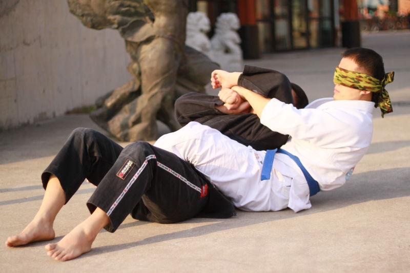 巴西柔术关节技教学